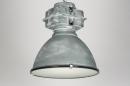 bekijk hanglamp-89340-modern-industrie-look-grijs-rond