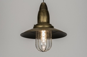 hanglamp 10431: klassiek, industrie, look, roest