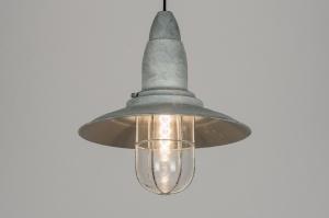 hanglamp 10433: klassiek, industrie, look, grijs