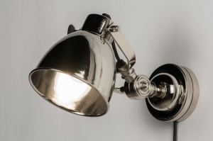 wandlamp 10477: retro, industrie, look, metaal