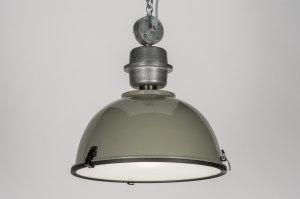 hanglamp 10565: modern, industrie, look, metaal