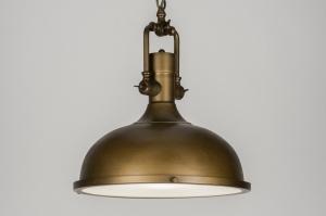 hanglamp 10569: klassiek, industrie, look, roest