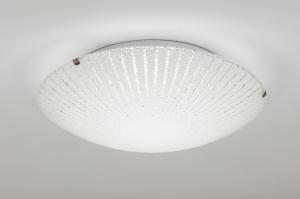 plafondlamp 10850: modern, klassiek, eigentijds klassiek, landelijk