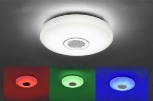 plafondlamp 10896: modern, landelijk, rustiek, RGB multicolor