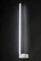 wandlamp 10908: modern, design, wit, mat
