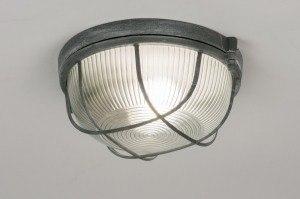 plafondlamp 10964: eigentijds klassiek, landelijk, rustiek, industrie