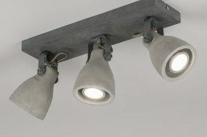 plafondlamp 11022: modern, landelijk, rustiek, stoere lampen raw