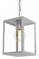 hanglamp 11092: klassiek, zwart, glas, helder glas