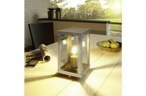 tafellamp 11094: modern, landelijk, rustiek, staalgrijs