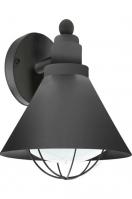 buitenlamp 11104: modern, landelijk, rustiek, zwart