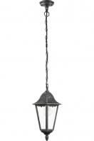hanglamp 11124: klassiek, zwart, aluminium, glas