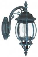 wandlamp 11132: klassiek, groen, zwart, aluminium