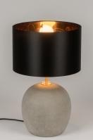 tafellamp 11140: modern, eigentijds klassiek, landelijk, rustiek