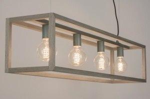 hanglamp 11152: modern, eigentijds klassiek, landelijk, rustiek