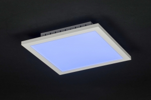 plafondlamp 11205: modern, design, meerkleurig, RGB multicolor