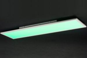 plafondlamp 11208: modern, design, meerkleurig, RGB multicolor