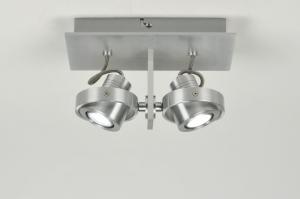 spot 30039: modern, design, aluminium, rechthoekig