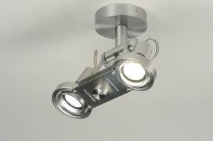 spot 30297: modern, design, aluminium, rond
