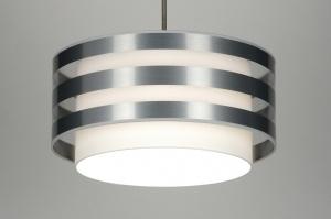 hanglamp 30406: modern, design, wit, stof