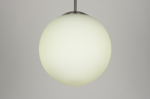 hanglamp 30638: modern, retro, meerkleurig, wit