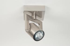 spot 52455: modern, staal , rvs, rond