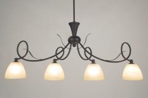 hanglamp 58920: klassiek, roest, bruin, brons