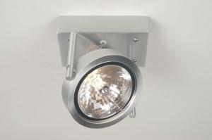 plafondlamp 67484: modern, design, aluminium, rond