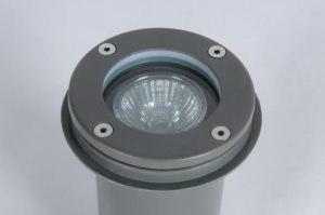 buitenlamp 70520: modern, metaal, rond