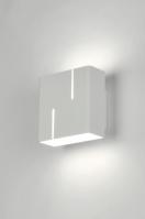 wandlamp 71052: modern, design, metaal, wit