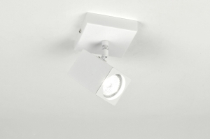 spot 71108: modern, wit, glans, metaal