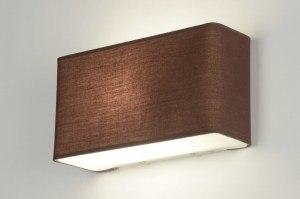 wandlamp 71465: modern, glas, wit opaalglas, metaal