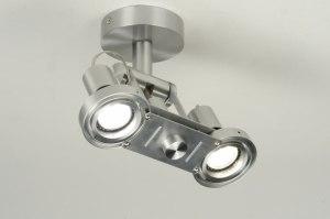 spot 71543: modern, design, aluminium, rond