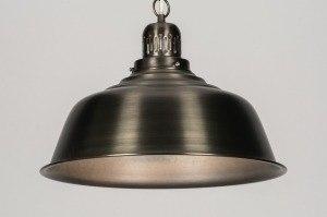 hanglamp 71587: industrie, look, roest, bruin