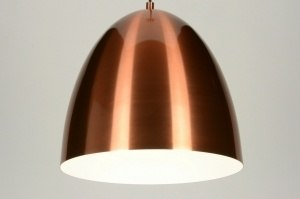 hanglamp 71891: modern, retro, aluminium, rond