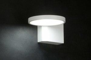 wandlamp 71985: modern, design, wit, mat