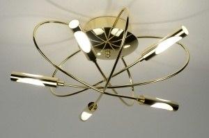 plafondlamp 71991: modern, klassiek, eigentijds klassiek, glas