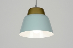 hanglamp 72002: modern, metaal, rond