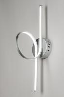 plafondlamp 72103: modern, design, kunststof, metaal