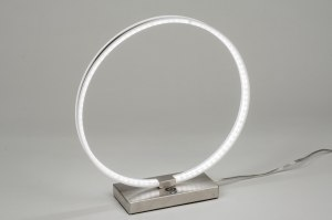 tafellamp 72114: modern, design, aluminium, kunststof