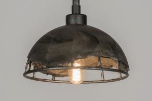 hanglamp 72175: modern, industrie, look, rond