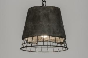 hanglamp 72182: modern, industrie, look, rond