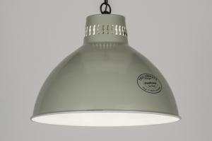 hanglamp 72190: retro, industrie, look, metaal