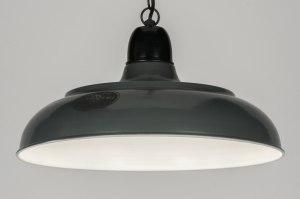 hanglamp 72191: retro, industrie, look, metaal