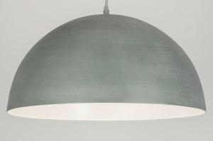 hanglamp 72227: modern, metaal, rond