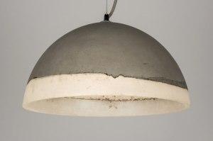 hanglamp 72236: modern, kunststof, rond