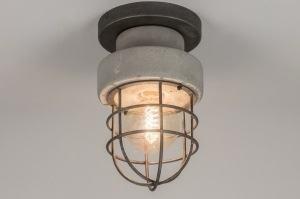 plafondlamp 72378: modern, landelijk, rustiek, retro