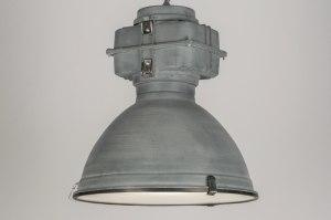 hanglamp 72412: modern, industrie, look, betongrijs