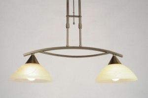 hanglamp 81921: klassiek, brons roest bruin, roest, bruin