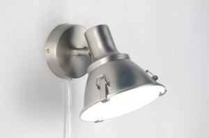 wandlamp 83575: modern, industrie, look, glas