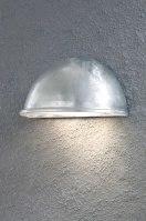 buitenlamp 84877: modern, kunststof, metaal, rond